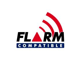 FLARM LOGO COMPATIBLE RGB 280x210 white